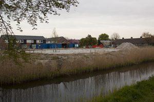 Foto bouwplaats MFA Lemmer 2 mei 2016
