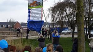 Foto starthandeling bouw MFA Lemmer 6 april 2016