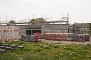 Foto bouwplaats MFA Lemmer 29 mei 2016