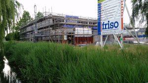 Foto bouwplaats MFA Lemmer 19 juni 2016